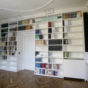 Libreria laminato – via della Spiga – Milano