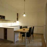 Cucina laccata bianco – via Agadir – San Donato Milanese